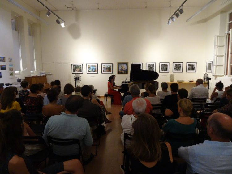 Valeria Vetruccio and Agniese Carlucci performing an original piano Tango program for 4 hands
